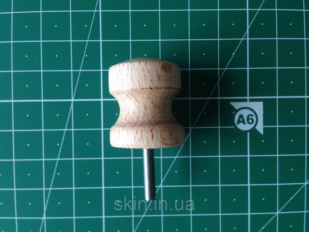 Сликер, насадка для гравера, инструмент для полировки торца кожи, 1 широкий, артикул СК 6034