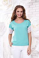 Женская блуза А 38 минт Arizzo 44-54 размеры