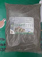 Повнораціонний гранульований комбікорм для курчат перепілок до 28 дня 10 кг мешок прозрачный полиэтиленовый