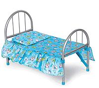 Кроватка для кукол металлическая  | «Melogo»
