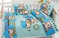 Комплект белья для кроватки Class (Bahar teksil) Ayicik v3