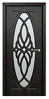 Межкомнатные двери Неман модель Орхидея ПО тик