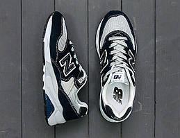 Кроссовки мужские New Balance 580 черно-белые
