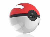 Внешний Аккумулятор Power Bank Pokeball Повербанк Покебол Портативное Зарядное Устройство