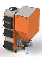 Котел твердотопливный длительного горения бытовой KOTLANT КГП 18 с автоматикой и вентилятором+ZPiD на пеллетах