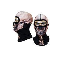 Балаклава с черепом Radical термомаска, подшлемник