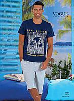 Мужской комплект шорты и футболка Турция