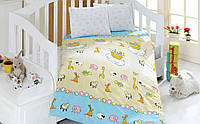 Комплект белья для кроватки Class (Bahar teksil) Safari