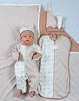 """Набор для новорожденного """"Стиляжки""""-5 предметов"""