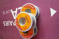 Припой оловянно-свинцовый ПОС-60, диаметр 1мм,катушка 100гр.