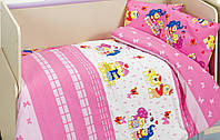Комплект белья для кроватки Class (Bahar teksil) Happy v2
