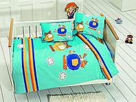 Комплект белья для кроватки Class (Bahar teksil) Sky v2