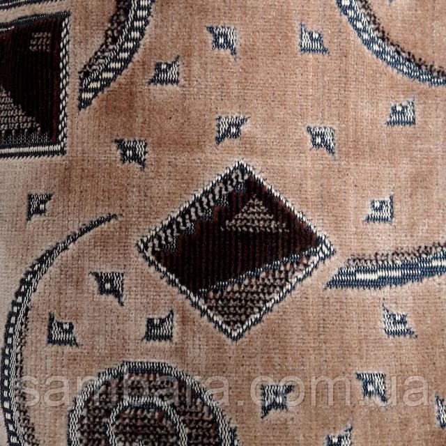 мебельная ткань велюр шпигель бельгийка ковровка  карнавал бежевый