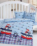 Комплект белья для кроватки Class (Bahar teksil) Reis