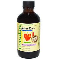 ChildLife, Essentials, Средство от аллергии, натуральный виноградный вкус, 4 жидких унции (118.5 мл)