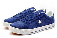 Пополнение кеды женские Converse All Star. Синий красивый цвет. Отличное, шикарное качество