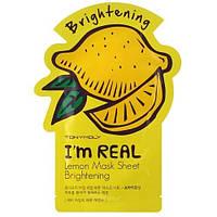 Тканевая маска / листовая маска  с экстрактом лимона TONY MOLY