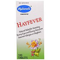 Hylands, От аллергии на пыльцу 100 таблеток