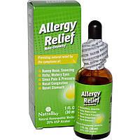 NatraBio, Облегчение при аллергии, не вызывает сонливости, 1 жидкая унция (30 мл)