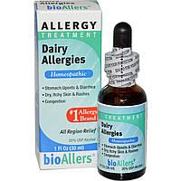 NatraBio, bioAllers, лечение аллергии на молочные продукты, 30 мл