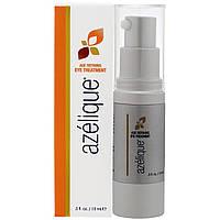 Azelique, Антивозрастное средство для ухода за глазами, с азелаиновой кислотой, омолаживает и увлажняет, не содержит парабенов и сульфатов, 15 мл