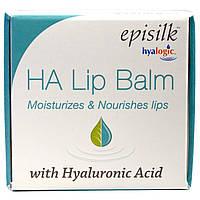Hyalogic LLC, Episilk, бальзам для губ HA Lip Balm з гіалуронової кислотою, 14 г (0,5 рідких унцій)