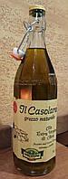 Масло оливковое Farchioni il casolare нефильтрованное, первый холодный отжим, 1 литр.