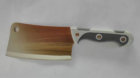 Топор-секач кухонный (прорезиненная ручка)-1, фото 2