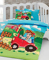 Комплект белья для кроватки Class (Bahar teksil) Farm v2