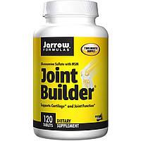 Jarrow Formulas, Строитель суставов, сульфат глюкозамина и метилсульфонилметан (МСМ), 120 таблеток