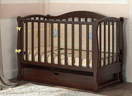Кроватка диванчик с маятниковым механизмом Беби Дрим