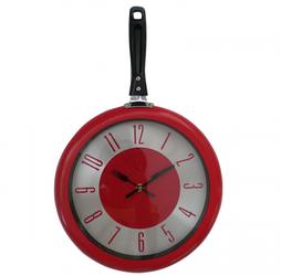 "Часы кухонныe ""Сковорода"" (30х48 см) [Пластик, металл]"