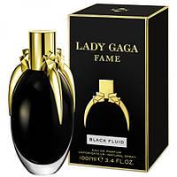 Женская парфюмированная вода Lady Gaga Fame Black Fluid EDP 100 ml