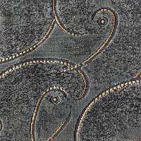 Мебельная ткань велюр (Шпигель)  торнадо тёмно-зелёный