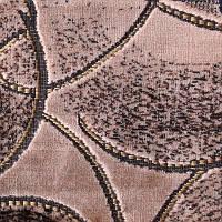 Мебельная ткань велюр (Шпигель)  торнадо бежевый