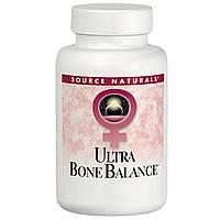 Source Naturals, Пищевая добавка Ульра баланс для костей, 120 таблеток