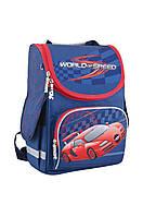 553426 Рюкзак каркасний PG-11 World of speed, 34*26*14
