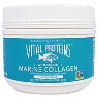 Vital Proteins, Морской коллаген из дикой рыбы, без ароматизаторов, 10,16 унции (288 г)