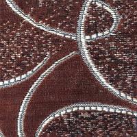 Мебельная ткань велюр (Шпигель)  торнадо коричневый