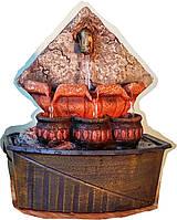 Фонтан декоративный Источник домашний комнатный настольный и насосом для воды 8564 24=14=25