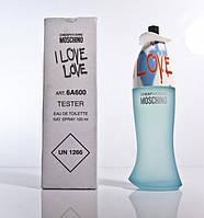 Женская туалетная вода Moschino I Love Love edt 100ml TESTER