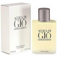 Мужская туалетная вода Armani Acqua di Gio pour homme EDT 100 ml