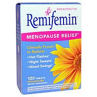 Enzymatic Therapy, Ремифемин, смягчение симптомов при перименопаузе и менопаузе, 120 таблеток