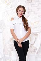 Женская белая блуза Урана  Arizzo 44-48 размеры