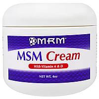 MRM, Крем с метилсульфонилметаном, 4 унции
