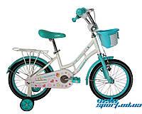 """Детский велосипед для девочек Crosser Mermaid 16"""""""