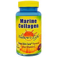 Natures Life, Морской коллаген, 60 капсул