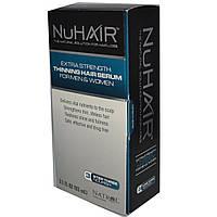 Natrol, NuHair, сыворотка для истончающихся волос, для мужчин и женщин, 3.1 жидких унций (93 мл)