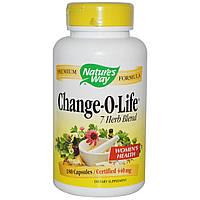 Natures Way, Смесь 7 трав Change-O-Life, 440 мг, 180 капсул