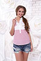 Коттоновая летняя блуза Зарина 1 Arizzo 44-50 размеры